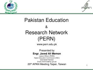 Pakistan Education  & Research Network (PERN)