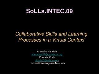 SoLLs.INTEC.09