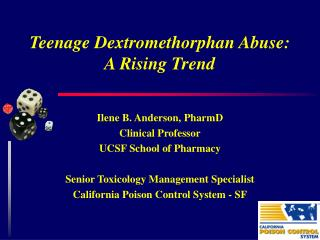 Teenage Dextromethorphan Abuse: A Rising Trend
