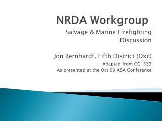 NRDA Workgroup