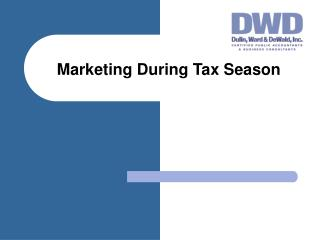 Marketing During Tax Season