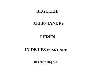 BEGELEID