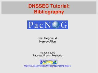 DNSSEC Tutorial: Bibliography