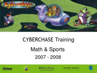 CYBERCHASE  Training Math & Sports