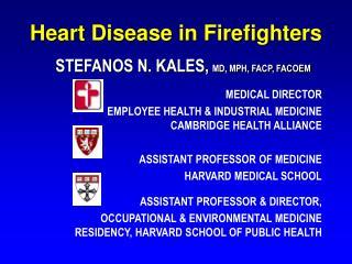 Heart Disease in Firefighters
