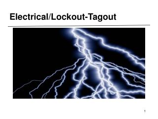 Electrical/Lockout-Tagout