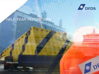 HALF-YEAR REPORT 2008