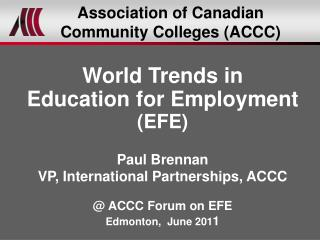 Association of Canadian Community Colleges (ACCC)