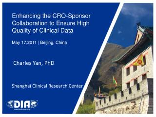 Enhancing the CRO-Sponsor Collaboration to Ensure High Quality of Clinical Data