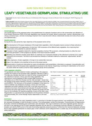*documents.plant.wur.nl/cgn/pgr/leafyveg/default.htm