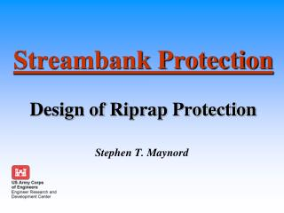 Streambank Protection Design of Riprap Protection