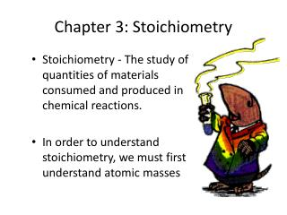 Chapter 3: Stoichiometry