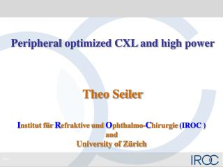 Peripheral optimized  CXL  and  high power