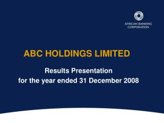 ABC HOLDINGS LIMITED