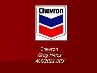 Chevron Greg Hines ACG2021.003