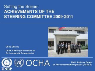Ninth Advisory Group  on Environmental Emergencies (AGEE 9)