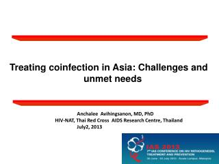 Treating coinfection in Asia: Challenges and unmet needs