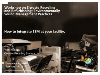 How to integrate ESM at your facility.