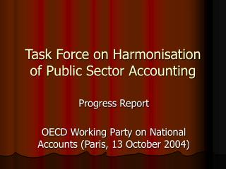 Task Force on Harmonisation of Public Sector Accounting