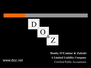 Dauby O'Connor & Zaleski A Limited Liability Company Certified Public Accountants