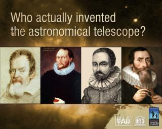 The telescope has revolutionized science in particular astronomy