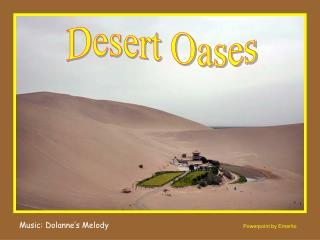 Desert Oases