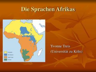 Die Sprachen Afrikas