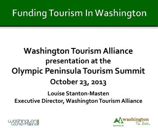 Funding Tourism In Washington