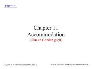 Chapter 11 Accommodation (Oku ve Gözden geçir)