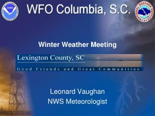 Winter Weather Meeting