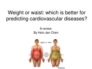 Weight or waist: which is better for predicting cardiovascular diseases?