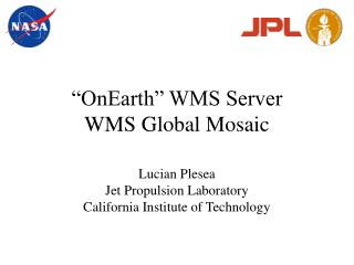 �OnEarth� WMS Server WMS Global Mosaic