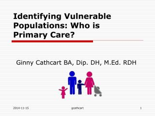 Identifying Vulnerable Populations: Who is Primary Care?