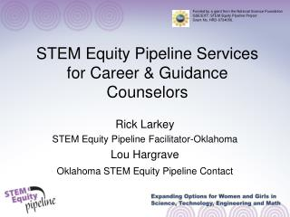 STEM Equity Pipeline Services for Career & Guidance Counselors
