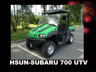 HSUN-SUBARU  7 00 UTV
