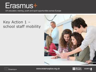 Key Action 1 – school staff mobility