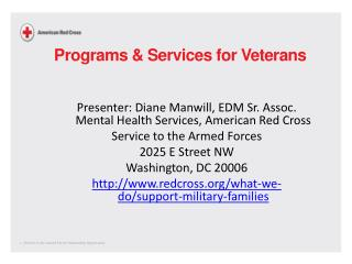Programs & Services for Veterans