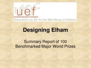 Designing Elham