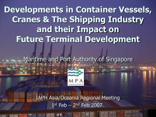 Maritime and Port Authority of Singapore