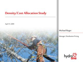Density/Cost Allocation Study