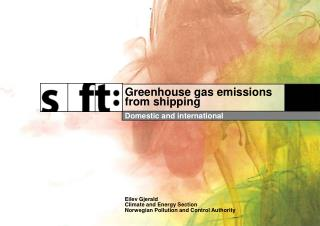 Greenhouse gas emissions from shipping