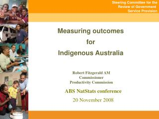Measuring outcomes for Indigenous Australia
