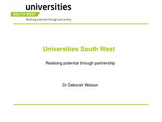 Universities South West
