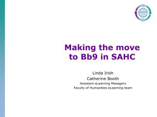 Making the move to Bb9 in SAHC