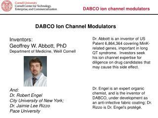 DABCO ion channel modulators