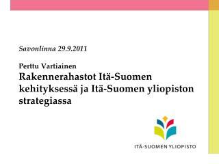 Itä-Suomi rakennerahastokauden jälkeen