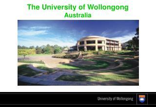 The University of Wollongong Australia