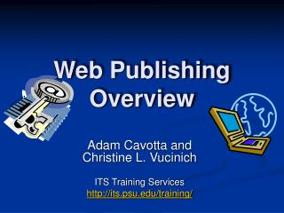 Web Publishing Overview