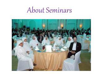 About Seminars