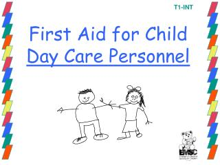 First Aid for Child  Day Care Personnel